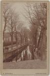 foto-30203 Het Venedij voor de demping, Enkhuizen, 189-?