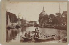 foto-30204 Oude Haven Enkhuizen omstreeks 1900, 1900