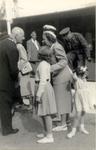 foto-3429 Koningin Juliana brengt bezoek aan Hoorn, 1948, 8 september