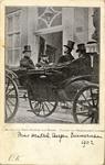 foto-4237 Bezoek van Prins Hendrik aan Hoorn. (Vertrek van Burgemeesters woning), 1902, 18 maart