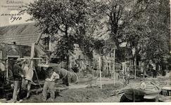 foto-5806 Enkhuizen. Visschersbedrijf Oosterhaven, 190-?