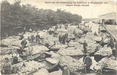 foto-9523 Markt van de Vereeniging de Tuinbouw te Grootebroek a/h Station Bovenkarspel, 190-?