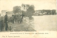 foto-36929 Overstrooming polder kl. Beetskoog, 6 Oct. 1893, Oudendijk. (N-H.), 1893