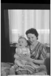 Karel te Lintel met moeder