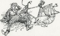 127 De nuwe fiets