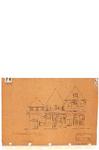 10001036 Drie woonhuisgevels aan de Slapershaven, Hoorn, Slapershaven, ongedateerd