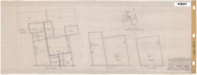 10001064 Plattegronden van de percelen Slapershaven 2 en 3, Hoorn, Slapershaven, ongedateerd