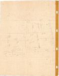 10001071a Opmeting Roode Steen 15, met maten en aantekeningen - achterzijde een schets, Hoorn, Roode Steen 15, ongedateerd