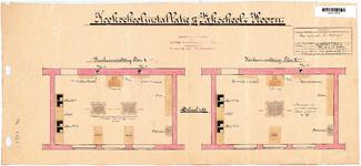 10001108 Kookinstallatie van de Vakschool, Hoorn, Kerkplein 38, ongedateerd