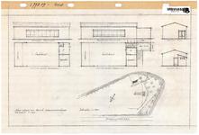 10001131 Plan wijziging barak woonwagenkamp aan de Bobeldijkerweg, Hoorn, Bobeldijkerweg, ongedateerd