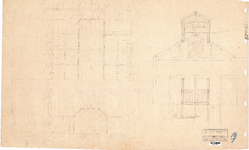 10001194 Plan Binnen Badhuis, Hoorn, ongedateerd