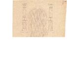 10001276 Detail Kloosterpoortsdeur (Oude Vrouwenpoort) aan het kerkplein, Hoorn, Kloosterpoort, Kerkplein, ongedateerd