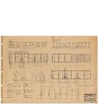 10001312 Plan voor het bouwen van 35 woningen met schuurtjes, blok 1, 2, 4, 6 en schuurtjes, Hoorn, Commandeur ...