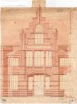 10001386 Detail gevel met ingang, Hoorn, Draafsingel 37, ongedateerd