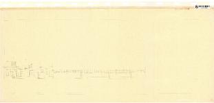 10001439 Gravenstraat 13, 15 en 17 met hekwerk van Stadsziekenhuis, Hoorn, Gravenstraat, ongedateerd
