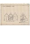 10001447 St. Maria- of Noorderkerk, dwarsdoorsnede naar het oosten gezien, doorsnede koor naar westen gezien, Hoorn, ...