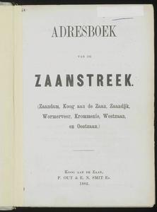 Adresboek van de Zaanstreek : Zaandam, Koog aan de Zaan, Zaandijk, Wormerveer, Krommenie, Westzaan en Oostzaan, pagina 9