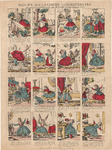 centpr.6 De droevige lotgevallen van de kleine ongehoorzame Julia (in hoes met centpr.4 en 5) (4x4 scenes uit het ...