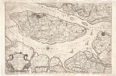 A18-07 Nieuwe kaart van het Eiland Overflakke Gelegen in het Graafschap van Holland en de Landen van Voorn in ...
