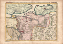 B18-07 Carte particuliere des environs de Willemstad, Steenbergen, et Berg-op-zoom , 1747