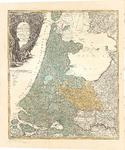 B18-30 Tabula Comitatus Hollandiae cum ipsius Confinijs Dominii nimirum Ultraiectini nec non Geldriae et Frisiae , 1733