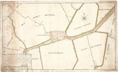 D18-08 Plan van de Steede Goedereede met de aangelegene situatie waar op gebragt zijn alle de dijken, wegen… , 1781