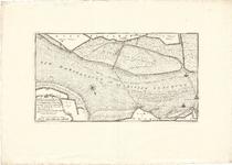 D18-09 Kaart van een Gedeelte der Rivier het Haringvliet, van boven den Stadsen Hoek tot Hellevoetsluis, met eenige ...