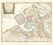 D18-13 Charte von Zeeland, nebst dem Antheil der General Staaten an Flandern… (zie D18-55), 1785