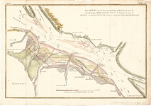 D18-20 Kaartje van de tegenswoordige gesteldheid,met de Aangelegen Bui-tenlanden Gorsen en Schorren… , ca. 1790