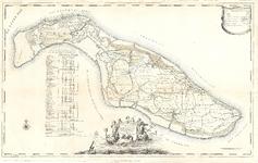 D18-43 Kaarte van 't Eiland Overflacque en Goedereede , 1793