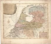 D18-50 Nieuwe Kaart der Bataafsche Republiek verdeeld in VIII departementen,… , 1798