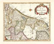 B18-17 Les Provences de la Hollande et d'Utrecht , 1734