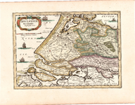 B18-18 Hollandiae Meridionales: descriptio nova. , 1734