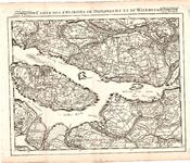 B18-20 Carte des environs de Dordrecht et de Willemstad , 1747
