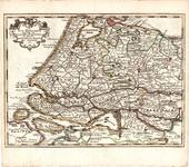 B18-23 la Sud Hollande suivant les Nouvelles observations de Messrs. de L'Academie Royale des Sciences etc. , 1740
