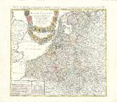 B18-28 Belgii Universi seu Inferioris Germaniae of Carte des XVII Provinces… , 1748