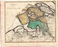 C18-33 Charte von Zeeland , ca. 1770