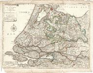 D18-28 Nieuwe kaart van Zuid Holland, Utrecht, de Vijf Heeren Landen en een gedeelte van Gelderland (zie D18-31 t/m 40), 1790