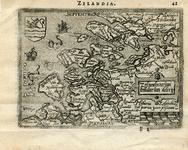 16-16 Zelandicarum insularum descriptio , ca. 1580
