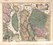 C17-10 Delflandia, Schielandia, et Insula trans Mosam illis objacentes ut sunt Voorna, Overflackea, Goerea, Yselmonda, ...