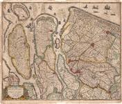 B17-10 Novissima Delflandiae, Schielandiae et circumiacentium insularum ut Voornae, Overflackeae, Goereae, ...