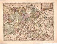 C17-13 Nieuwe en Nauwkeurige Lantcaert vande XVII Nederlantse Provincie , 1672