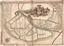 D17-31 Caarte der stadt Goede Reede en haar onder horende polders , 1698