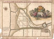 D17-35 Caarte van de polders van Onwaart en Aerts dyck wal (zie D17-34), 1697