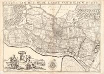 D17-37 Caarte van het oude landt van Diepen Dorst , 1698