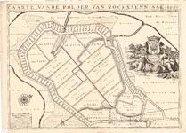 D17-41 Caarte vande polder van Roxenisse , 1696