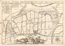D17-42 Caarte vande heerlykheyt van Melissant 1696 , 1696