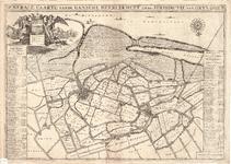 D17-45 Generale caarte vande gansche heerlykheyt ende jurisdictie van Grysoort , ca. 1697