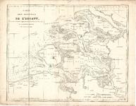 A19-47 Carte des Bouches de l'Escaut, Dessinéet Gravée d'après la Carte des Côtes des Pays Bas de mr Beautemps Beaupré ...
