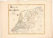 B19-11 Nouvelle carte du Royaume de Hollande , 1829